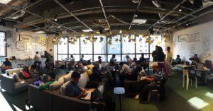 Espaço do Google para Startups em São Paulo
